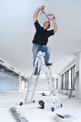 Нивелир Bosch GCL 25 Professional (0.601.066.B00) - в работе