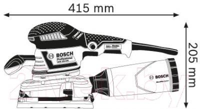 Профессиональная виброшлифмашина Bosch GSS 230 AVE Professional (0.601.292.801)