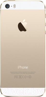 Смартфон Apple iPhone 5S восстановленный (16GB, золотой)