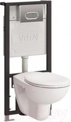 Унитаз с инсталляцией VitrA Normus 9773B003-7203