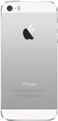 Смартфон Apple iPhone 5S восстановленный (16Gb, серебристый)