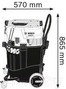 Профессиональный пылесос Bosch GAS 55 M AFC (0.601.9C3.300)
