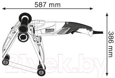 Профессиональная ленточная шлифмашина Bosch GRB 14 CE Professional (0.601.8A9.000)