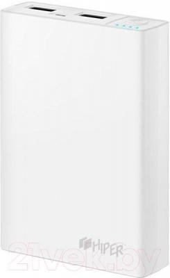 Портативное зарядное устройство Hiper RP12500 (белый)