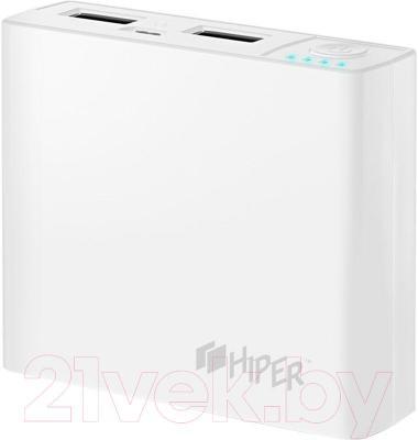 Портативное зарядное устройство Hiper RP4300 (белый)