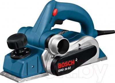 Профессиональный электрорубанок Bosch GHO 26-82 Professional (0.601.594.103) - общий вид
