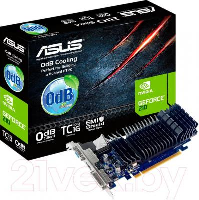 Видеокарта Asus GeForce 210 1024MB DDR3 (210-SL-TC1GD3-L)