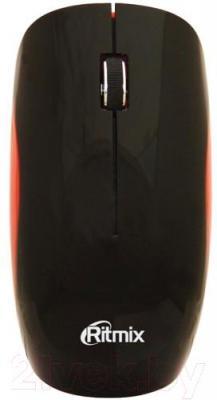 Мышь Ritmix RMW-110 (черно-красный)