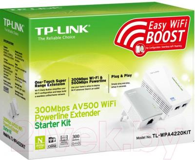 Комплект powerline-адаптеров TP-Link TL-WPA4220KIT