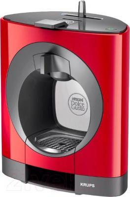 Капсульная кофеварка Krups Dolce Gusto Oblo Red (KP1105)