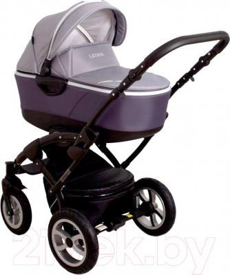 Детская универсальная коляска Coto baby Latina 3в1 (серый)