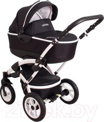 Детская универсальная коляска Coto baby Latina 3в1 (черный)