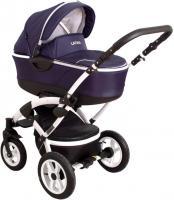 Детская универсальная коляска Coto baby Latina 3в1 (темно-синий) -