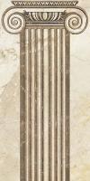 Декоративная плитка для ванной Уралкерамика Помпеи ВС9ПМ024 (249х500, белый/коричневый) -