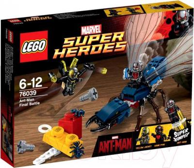 Конструктор Lego Super Heroes Решающая битва Человека-муравья 76039