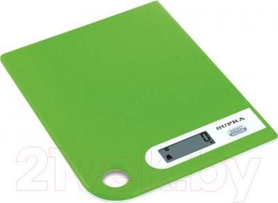 Кухонные весы Supra BSS-4100 (зеленый)