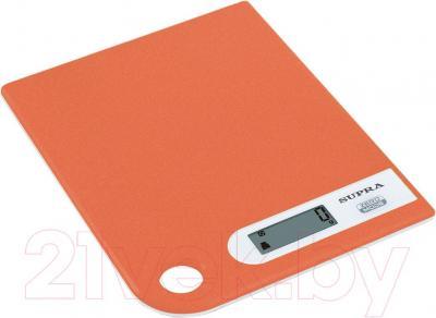 Кухонные весы Supra BSS-4100 (оранжевый)