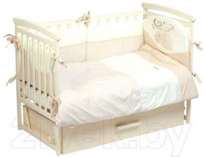 Комплект в кроватку Putti Starry Night (бежевый)