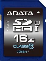 Карта памяти A-data Premier SDHC UHS-I U1 (Class 10) 16 GB (ASDH16GUICL10-R) -