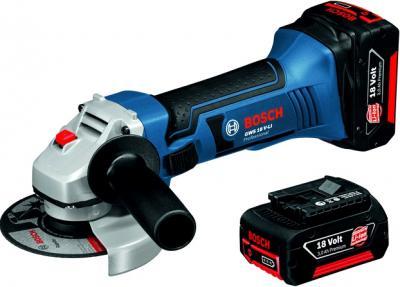 Профессиональная болгарка Bosch GWS 18 V-LI Professional (0.601.93A.302) - общий вид