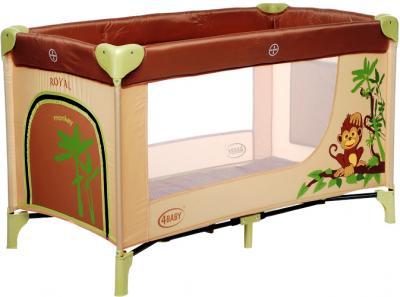 Кровать-манеж 4Baby Royal Monkey - общий вид