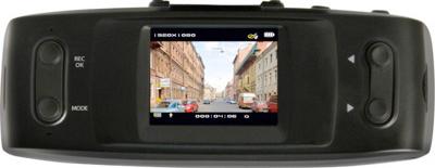 Автомобильный видеорегистратор Jagga DVR 1850GPS (Blue) - общий вид (дисплей)