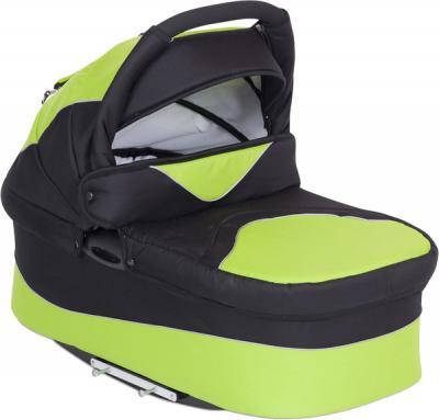 Детская универсальная коляска Riko Alpina (Lime) - люлька