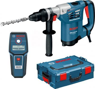 Профессиональный перфоратор Bosch GBH 4-32 DFR Set + Обнаружитель металла - общий вид