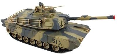 Радиоуправляемая игрушка Huan Qi Танк M1A2 Abrams (781) - общий вид
