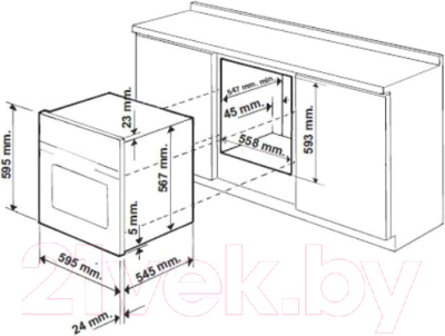 Электрический духовой шкаф Hotpoint FT 850.1 (AN) /HA S