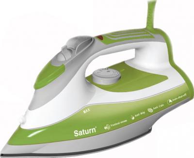 Утюг Saturn ST-CC7138 (зеленый) - общий вид