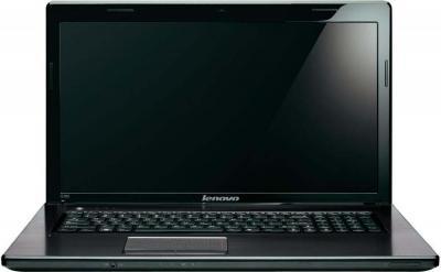 Ноутбук Lenovo G780 (59349698) - фронтальный вид