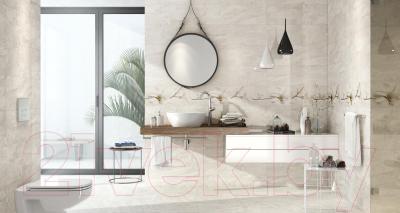 Плитка для пола ванной Opoczno Stone Flowers Beige OP683-004-1 (450x450)