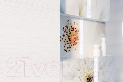 Декоративная плитка Opoczno Tensa/Diago Beige Flower A OD703-001 (600x297)