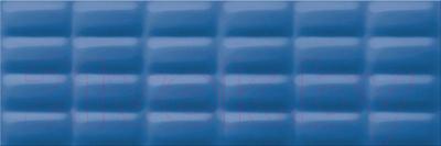 Плитка для стен ванной Opoczno Vivid Colours Blue Glossy Pillow Str OP685-002-1 (750x250)