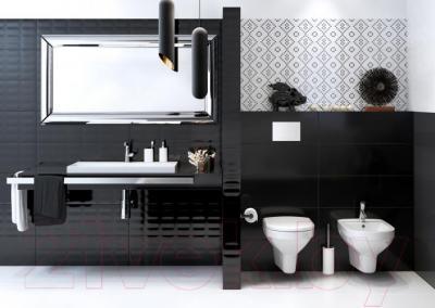 Плитка Opoczno Pret-a-Porter Black Glossy Pillow Str OP684-002-1 (750x250)