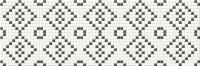 Мозаика Opoczno Pret-a-Porter Black&White Mosaic OD334-010 (750x250) -