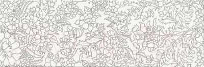 Декоративная плитка Opoczno Pret-a-Porter White Flower OD334-012 (750x250)