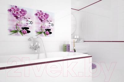 Декоративная плитка для ванной Opoczno Панно Japanese Garden Flower OD654-001 (600x500)