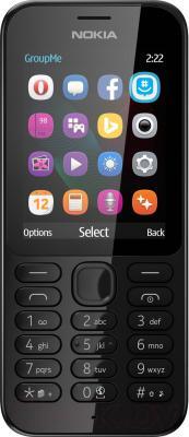Мобильный телефон Nokia 222 Dual (черный)