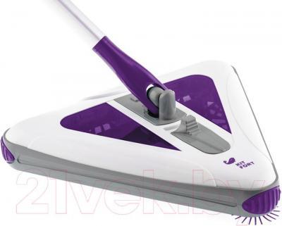 Электровеник Kitfort KT-508-3 (фиолетовый) - щетка