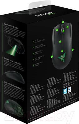 Мышь Razer Abyssus 1800 and Goliathus Mouse and Mat Bandle (RZ84-00360200- B3M1) - коробка вид сзади