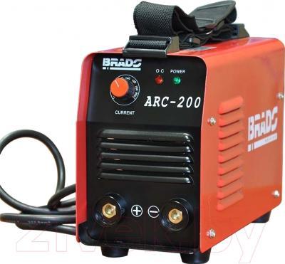 Инвертор сварочный Brado ARC-200 - вид спереди