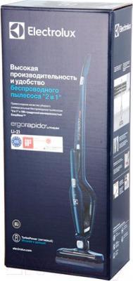 Вертикальный портативный пылесос Electrolux ERG101