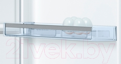 Холодильник с морозильником Bosch KGN39LQ10R