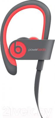 Наушники-гарнитура Beats Powerbeats 2 Wireless / MHBK2ZM/A (серо-розовый)