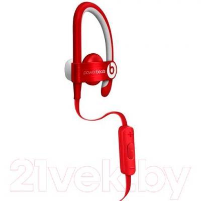 Наушники-гарнитура Beats Powerbeats 2 In Ear / MH782ZM/A (красный)