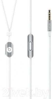 Наушники-гарнитура Beats urBeats In-Ear Headphones / MK9Y2ZM/A (серебристый)