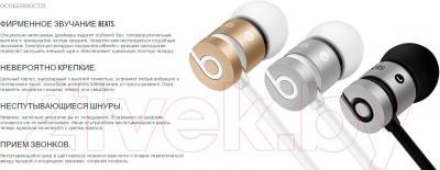 Наушники-гарнитура Beats urBeats In-Ear Headphones / MK9W2ZM/A (серый космос)