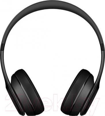 Наушники-гарнитура Beats Solo 2 Wireless Headphones / MHNG2ZM/A (черный)